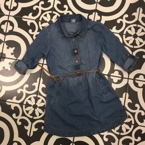Carter's Denim chambray shirt dress